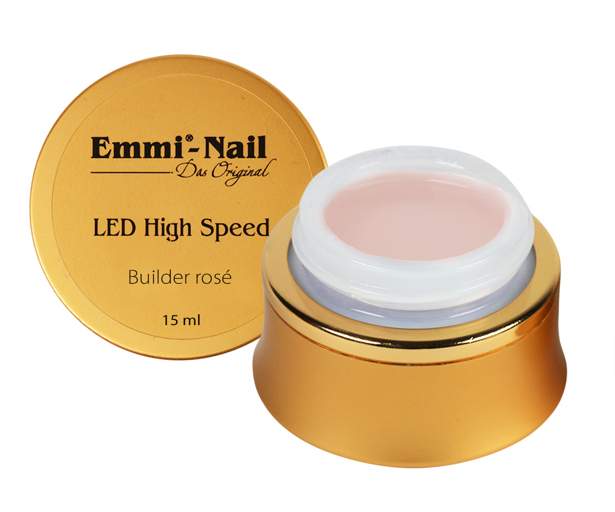 Led High Speed Builder Gel Rose, 15 ml