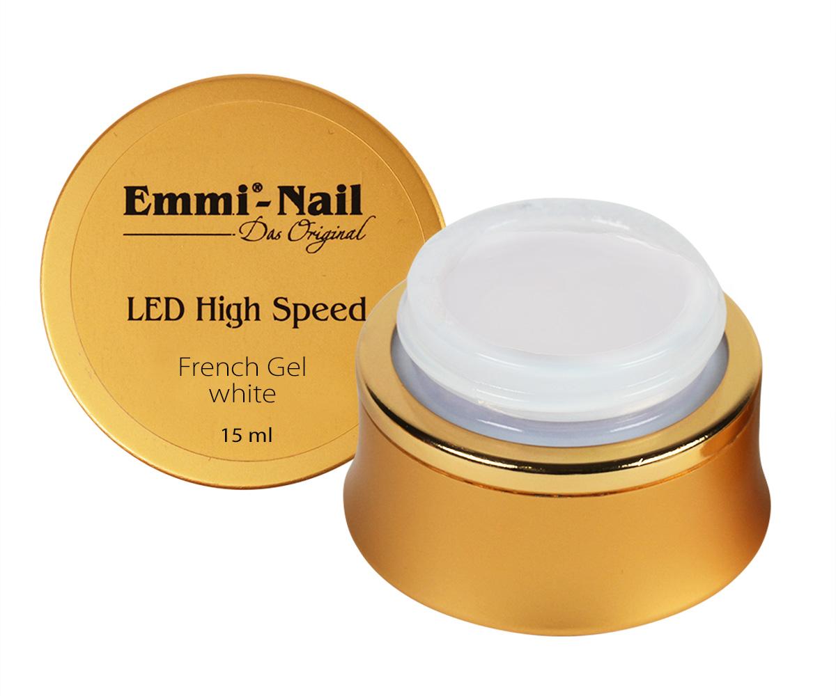 Led High Speed French Gel White, 15 ml