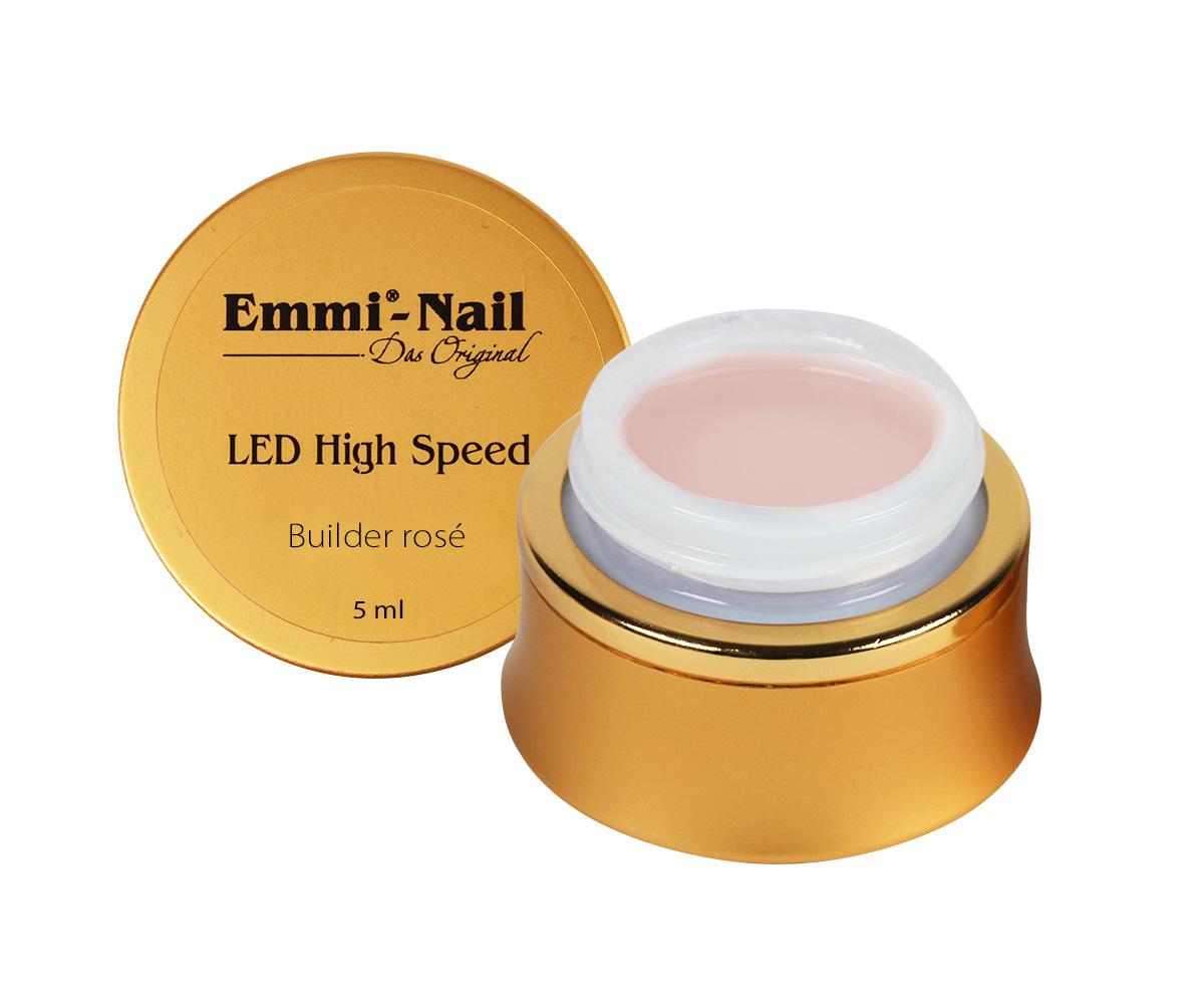 Led High Speed Builder Gel Rose, 5 ml