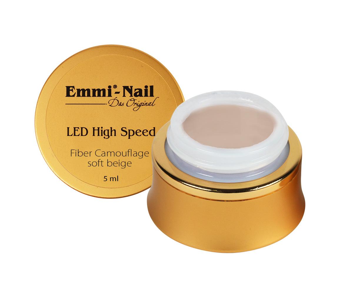 Led High Speed Camouflage Gel Soft Beige, 15 ml