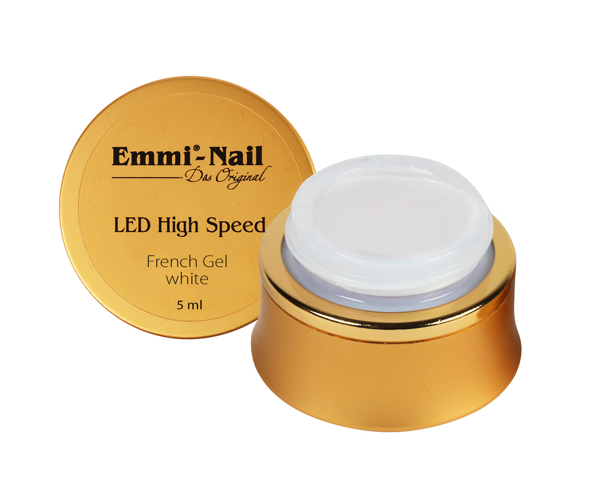 Led High Speed French Gel White, 5 ml