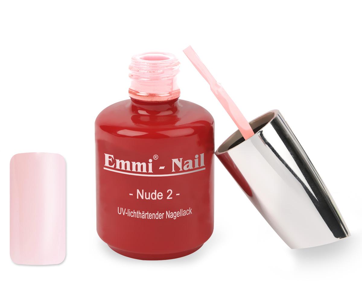 Emmi-Nail UV Polish-Gellak Nude 2, 15 ml