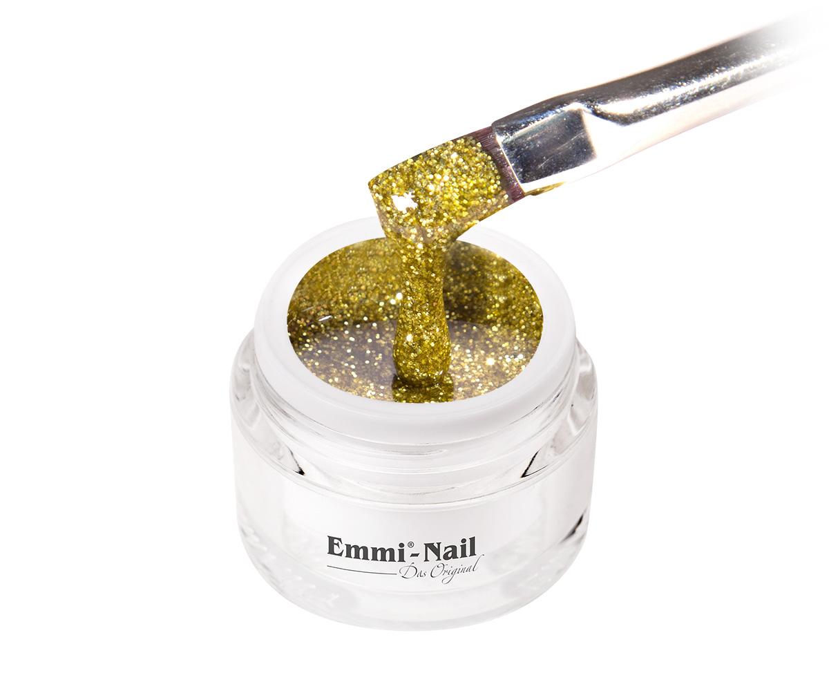 Emmi-Nail Kleurgel Gold Glitter, 5 ml