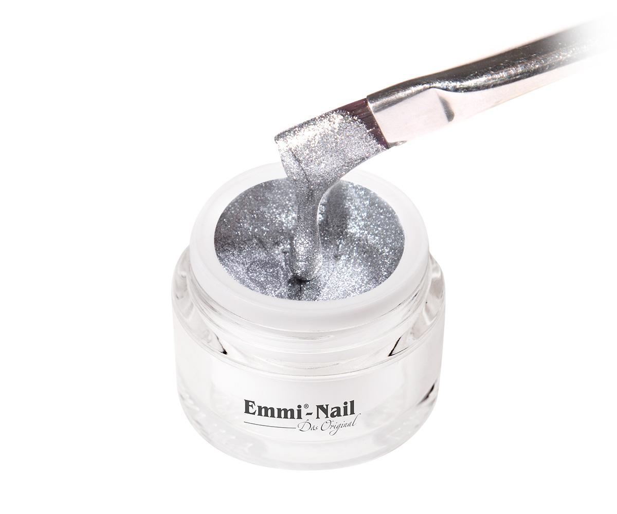 Emmi-Nail Kleurgel Metal Silver, 5 ml