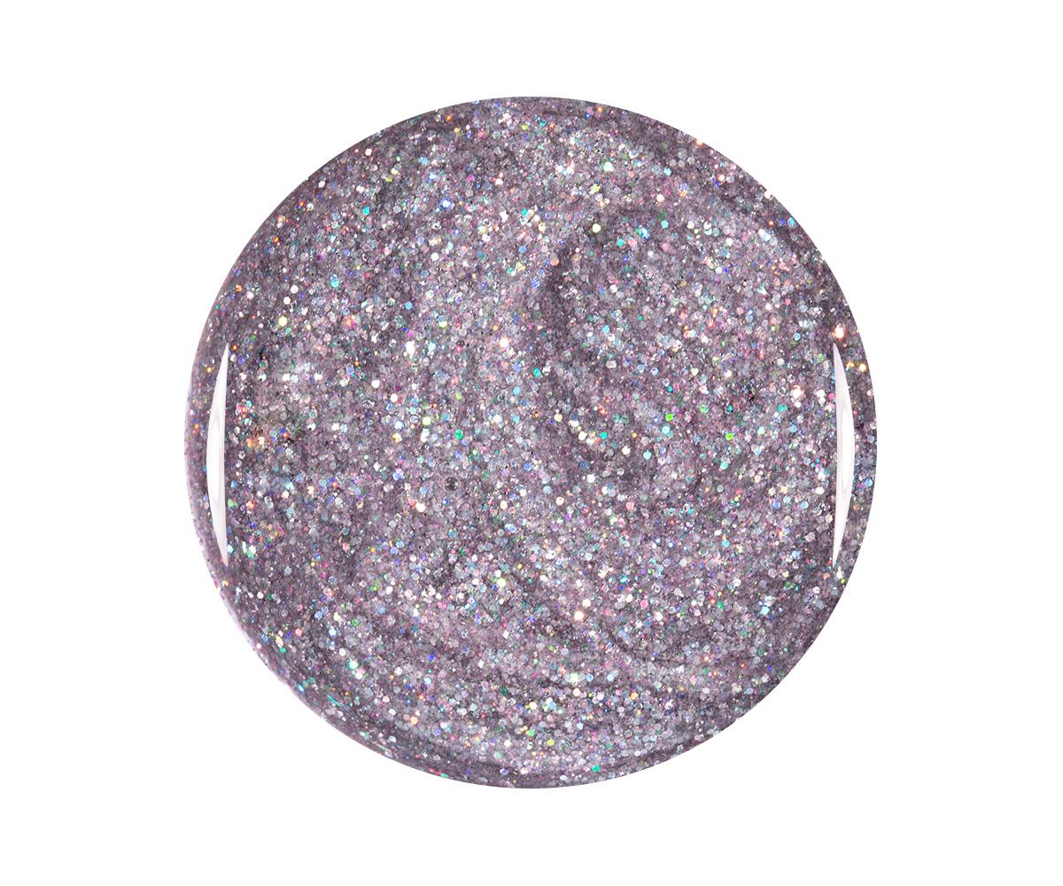 Emmi-Nail Kleurgel Silver Multicolor Glitter, 5 ml