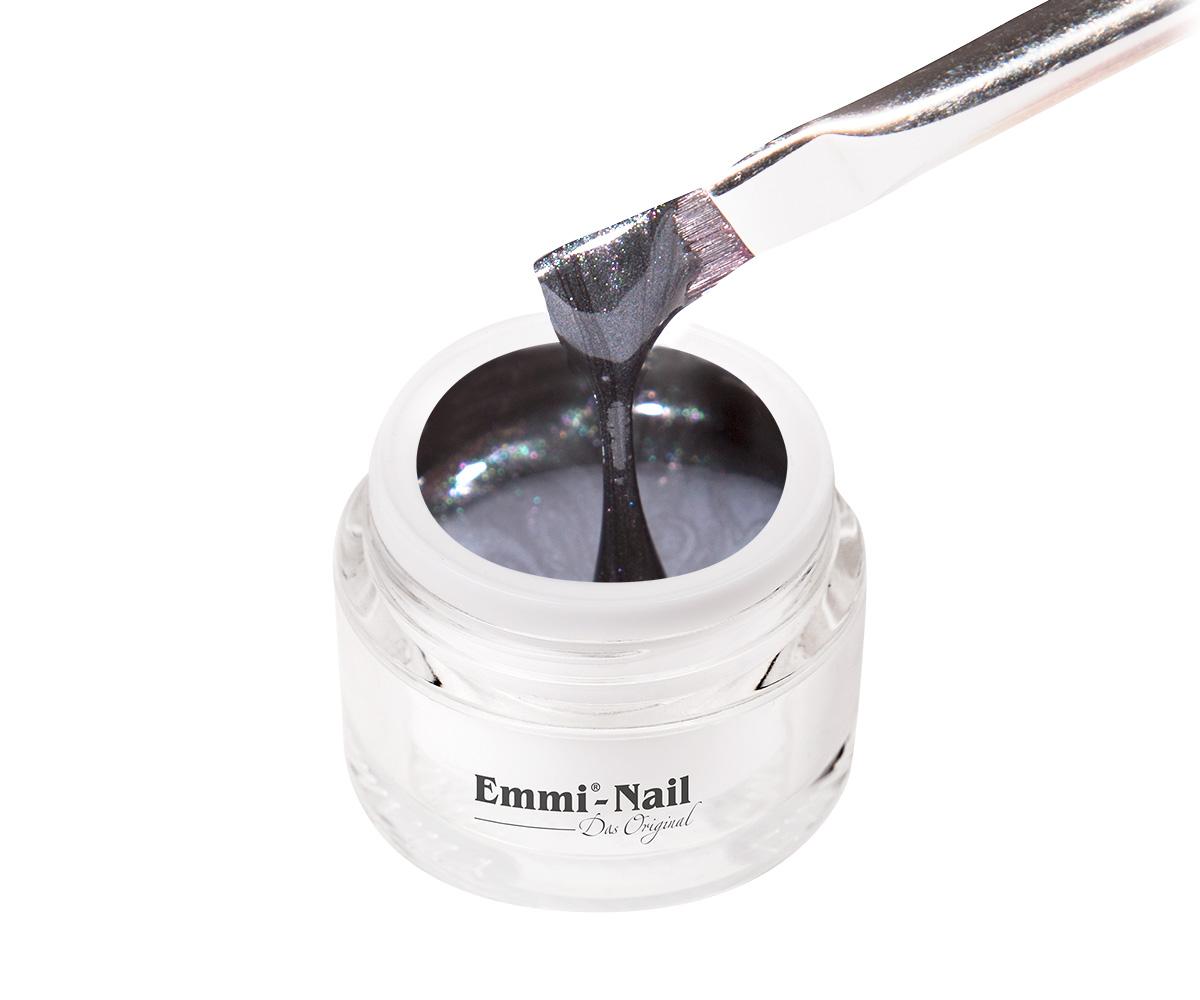 Emmi-Nail Kleurgel Zeus Black Glitter, 5 ml