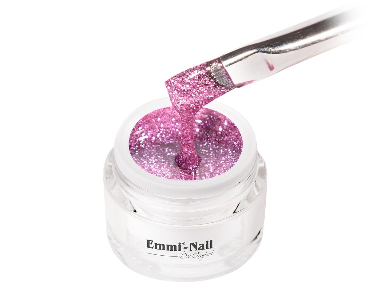 Emmi-Nail Kleurgel Glitter Rose, 5 ml