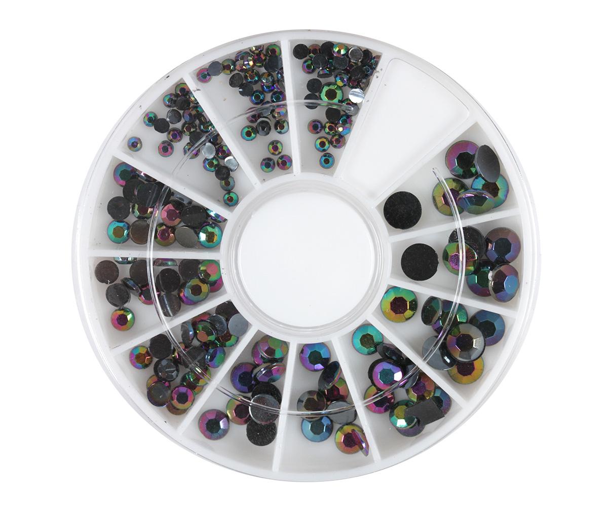 Display Blue Rainbow Crystals