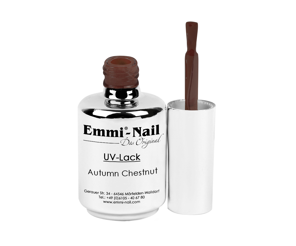 Emmi-Nail UV Polish-Gellak Autumn Chestnut, 15 ml