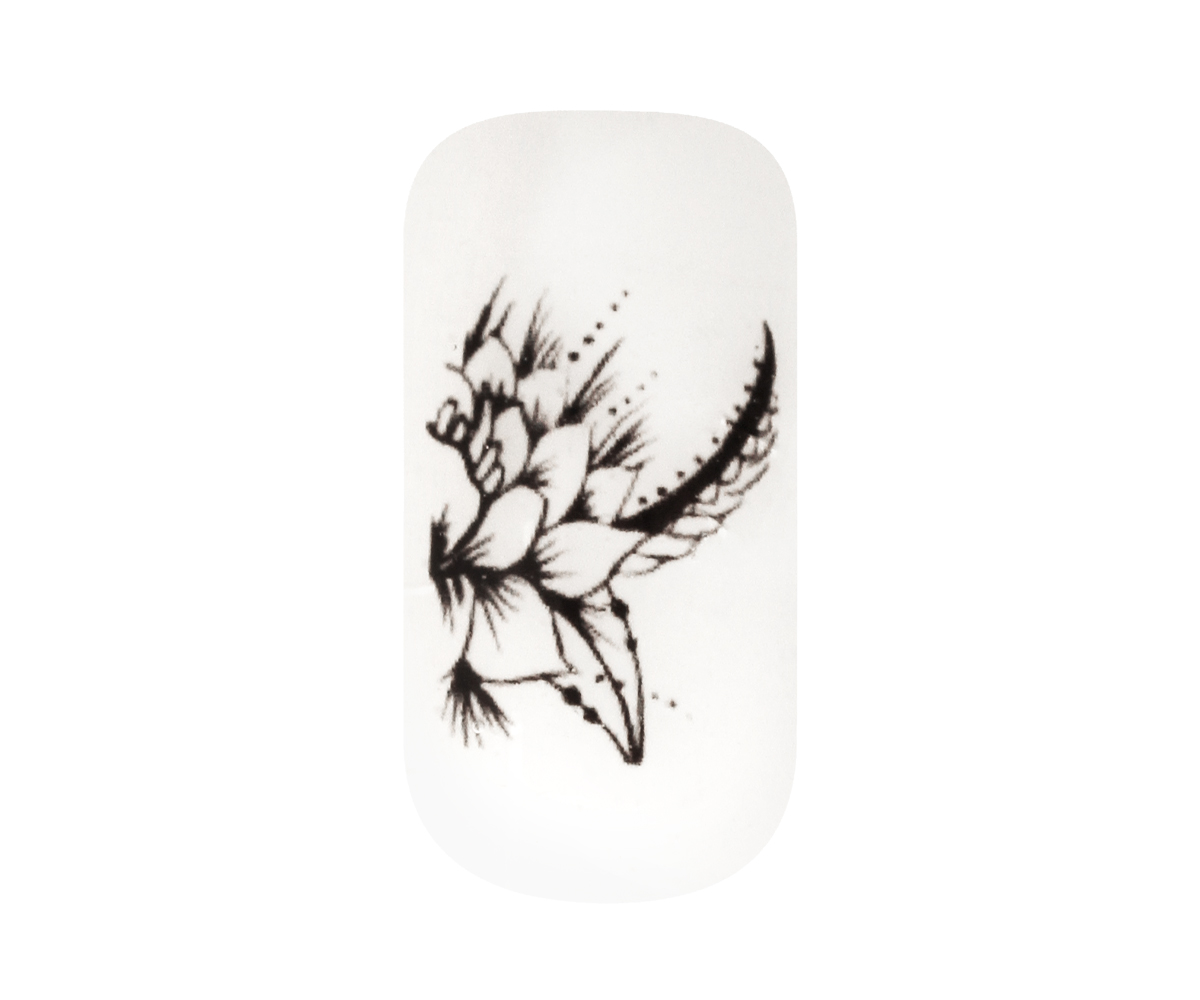Emmi-Nail Tattoo Indisch Ornament