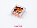 Emmi-Nail Pailletten Orange