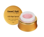 Led High Speed Fiber Camouflage Gel Milky Rose, 5 ml