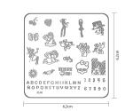 Stamping Sjabloon XJ4