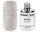 Emmi-Nail UV Polish-Gellak Zilver Glitter, 15 ml
