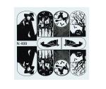 Fashion Sticker N499