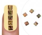 Nailart gem Opal square