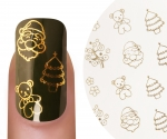 Emmi-Nail Waterdecall Kerst 5
