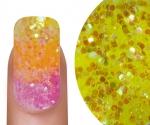 Emmi-Nail Glitter Mix Geel