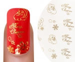 Emmi-Nail Waterdecall Kerst 3