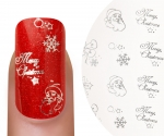 Emmi-Nail Waterdecall Kerst 4