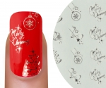 Emmi-Nail Waterdecall Kerst 2
