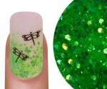 Emmi-Nail Glitter Mix Licht Groen