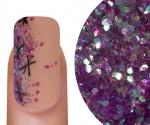 Emmi-Nail Glitter Mix Lila