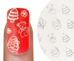 Emmi-Nail Waterdecall Kerst 6