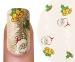 Emmi-Nail Waterdecall Kerst 8